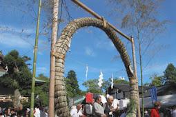 日本最大級茅の輪くぐり 静岡浅間神社