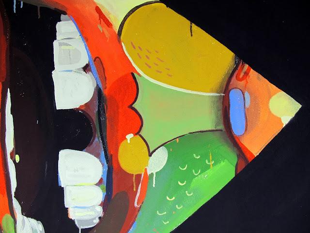 """""""Reverse Balaclava"""" New Indoor Mural By Italian Street Artist Basik For Dreamfloor Festival in Rimini. 3"""