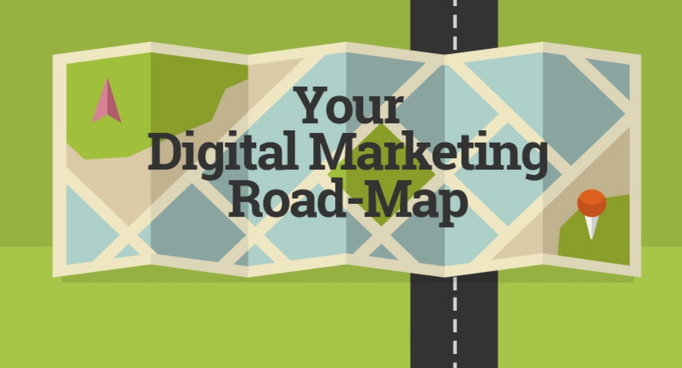 Your Digital Marketing Roadmap - infographic / Digital Information World