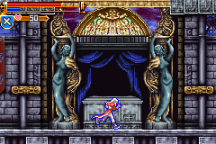 Castlevania Harmony of Dissonance GBA Graphics