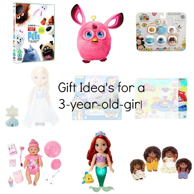 gifts for a 3 year girl