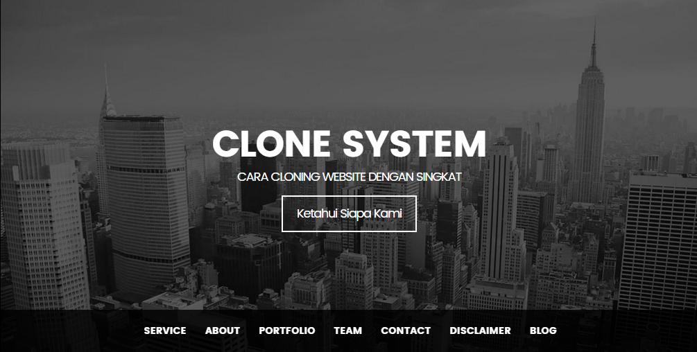 Cloning System