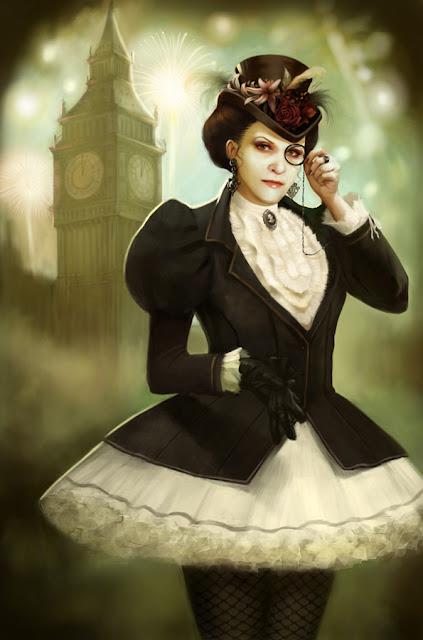 London selfportrait by Katarzyna Oleska