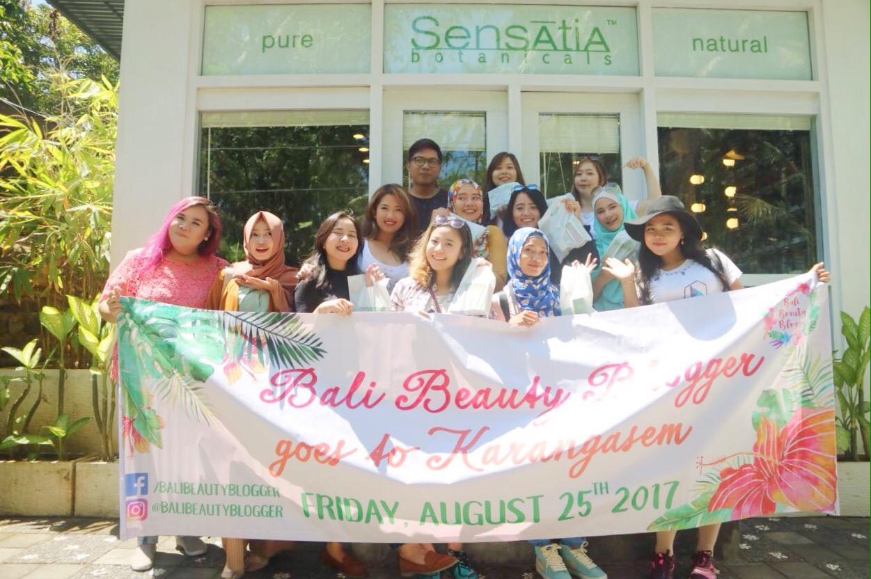 Sensatia Botanicals Factory Visit Store Karangasem