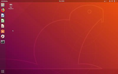 Escritorio Ubuntu 18.04 LTS