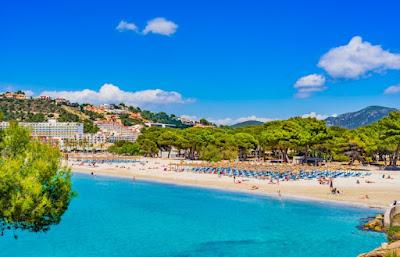 пляж Санта понса, детский отдых на майорке, лучшие пляжи на майорке