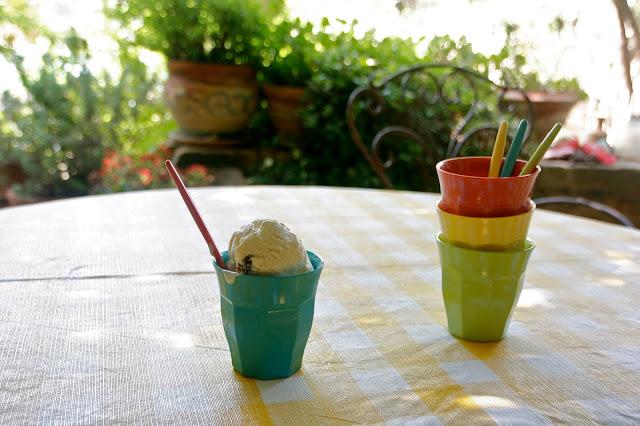 Receta de helado de ron con pasas sin heladera
