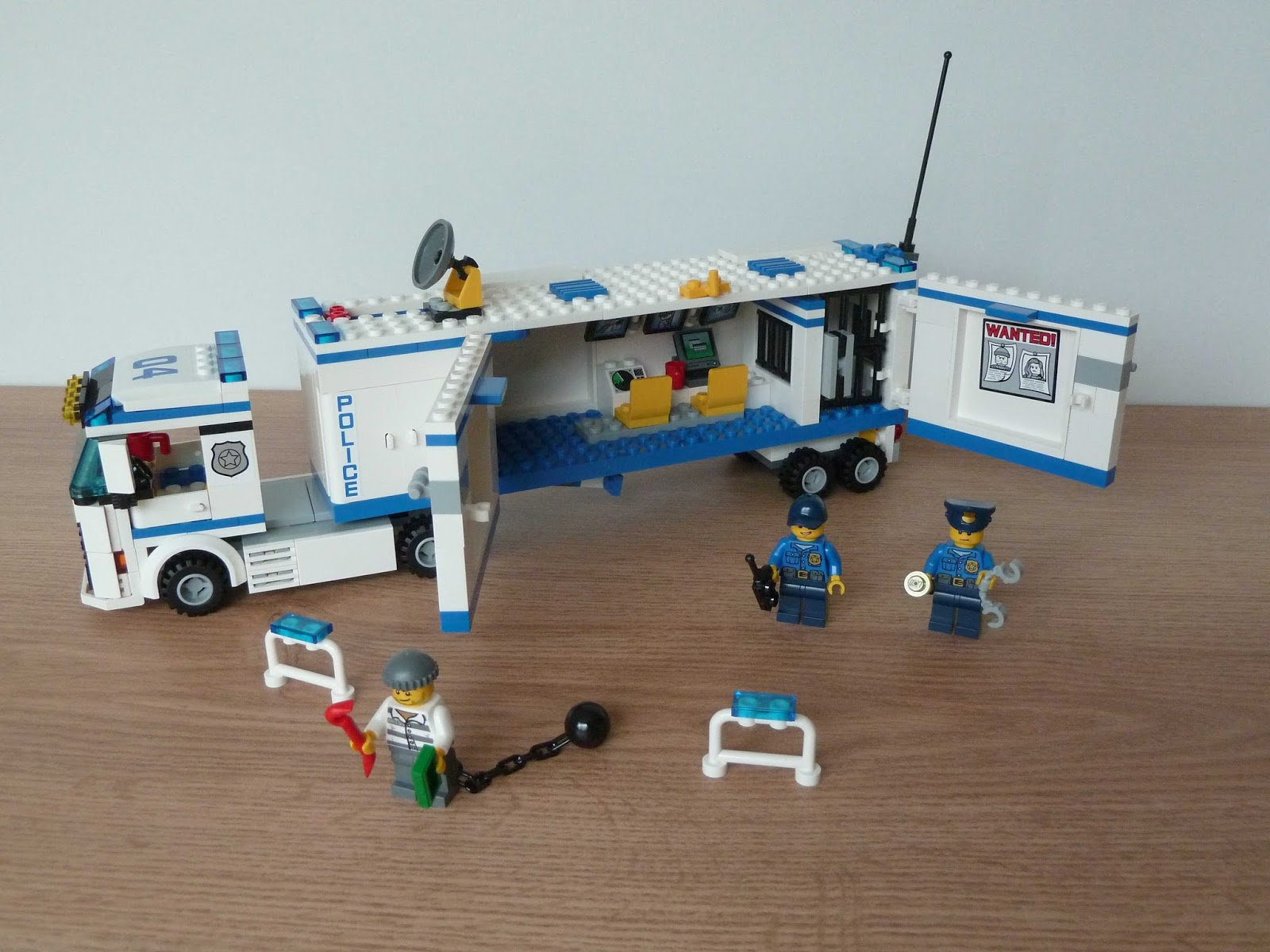 Totobricks Lego 60044 Lego City Mobile Police Unit