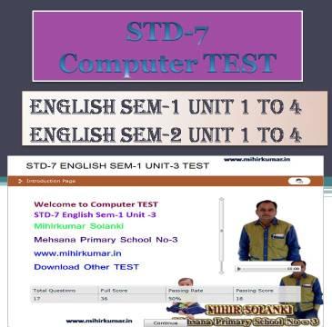 english std-7 sem-1 unit 4