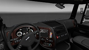 DAF XF HD Interior by ErdemOzturk