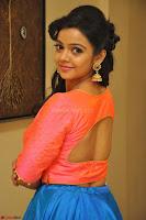 Nithya Shetty in Orange Choli at Kalamandir Foundation 7th anniversary Celebrations ~  Actress Galleries 067.JPG