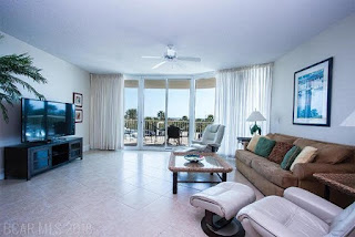 Caribe Resort Condo For Sale Unit B211 Living Room Orange Beach AL Real Estate