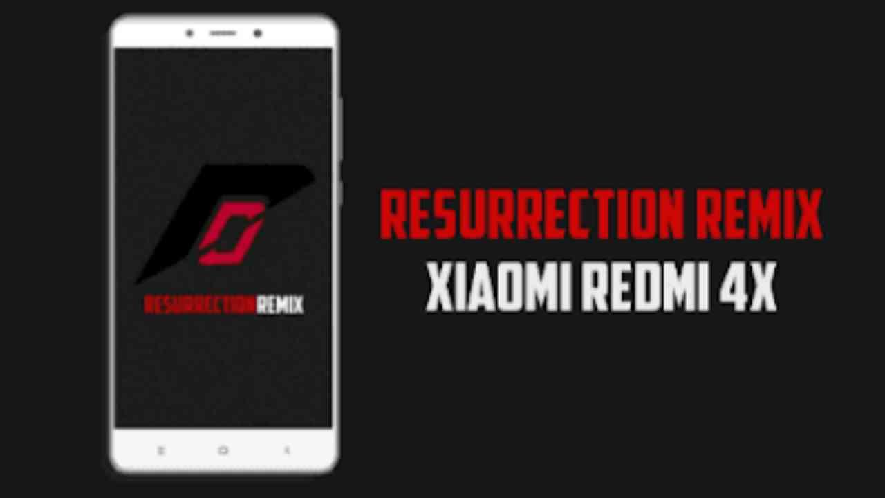 Rom Redmi 4x, ResurrectionRemix v6.0.0