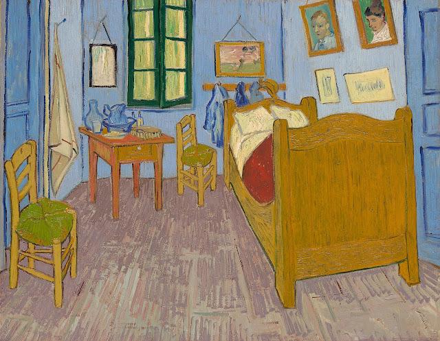 Vincent van Gogh - La habitación de Arlés - 1889-90