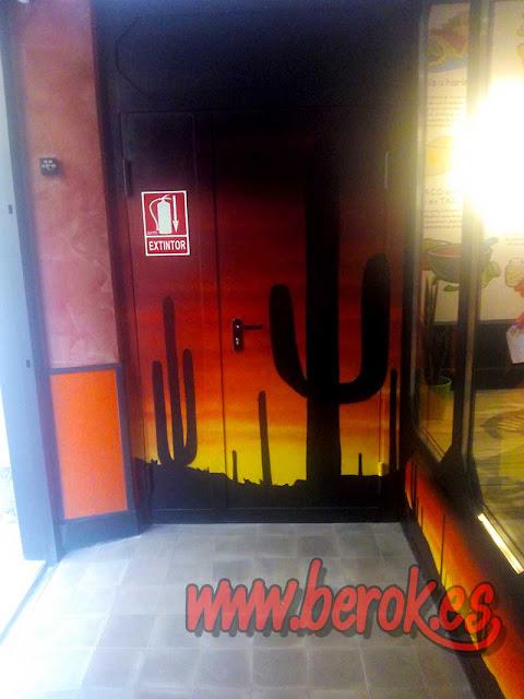 Mural cactus