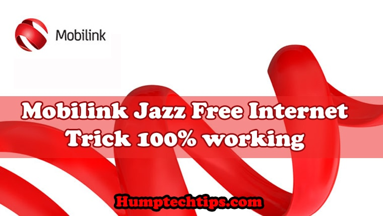 Mobilink jazz free internet tips and tricks
