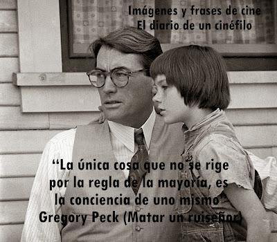 Resultado de imagen de frases de Gregory Peck