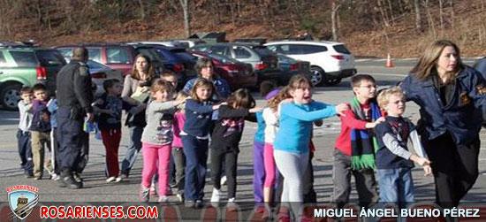 États-Unis : un tireur fou tue 20 enfants et six adultes   Rosarienses, Villa del Rosario