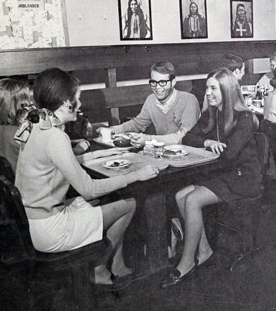 Vintage Photos Of Mini Skirts In Dining Vintage Everyday