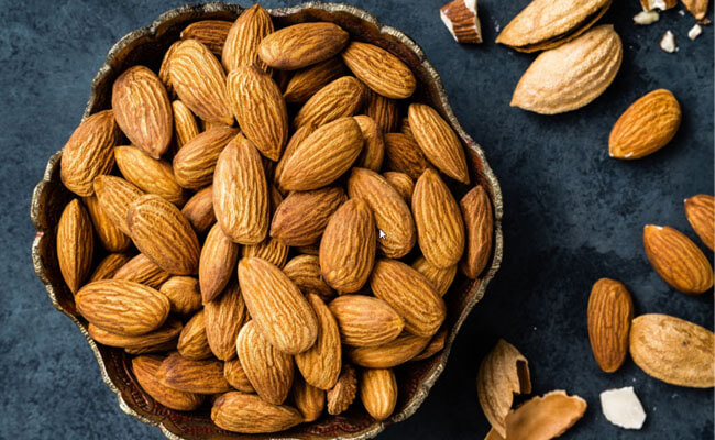 get glowing skin almond