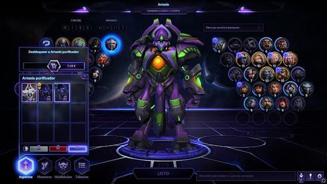 10 Easter Eggs de Heroes of the Storm - Artanis EVA 01