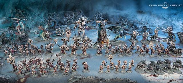 ejército bestias del caos