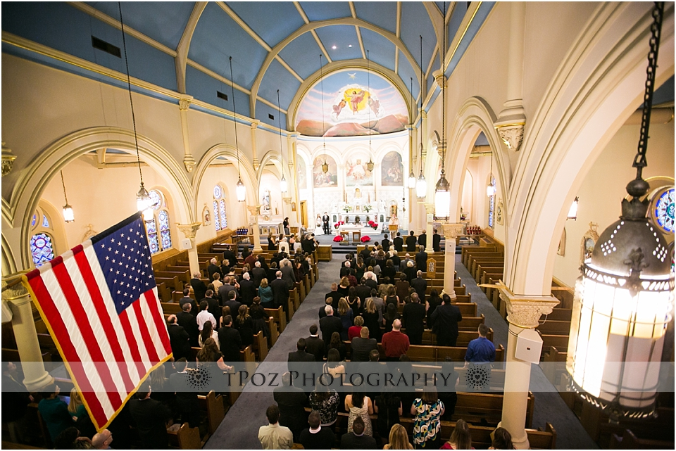 Our Lady of Good Counsel Baltimore Wedding Ceremony