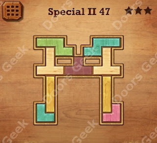 Cheats, Solutions, Walkthrough for Wood Block Puzzle Special II Level 47