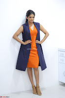 Priyamani in Beautiful Short Deep neck Orange Dress ~  Exclusive 17.JPG