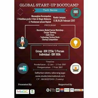 Global Start-Up Bootcamp 2017