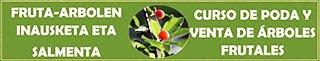 Curso de poda y venta de árboles frutales en Zierbena