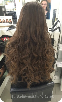 curling with ghd straighteners