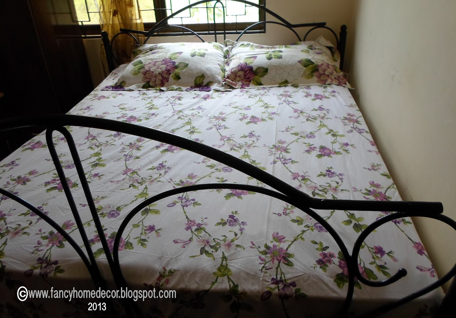 Fancy Home Decor: MY PROJECT: METAL BED SIZE 6X6 - SITE YA ...