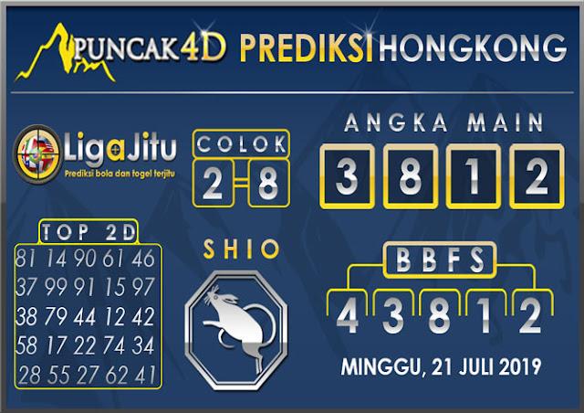 PREDIKSI TOGEL HONGKONG PUNCAK4D 21 JULI 2019