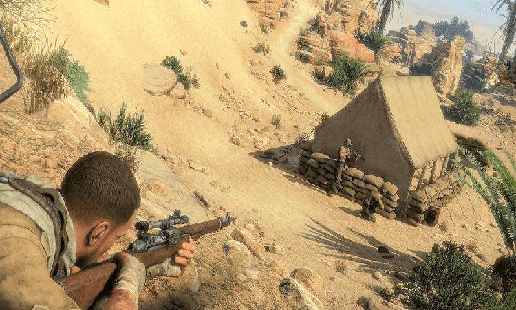 تحميل لعبة القناص سنايبر sniper elite 3 برابط مباشر مجانا