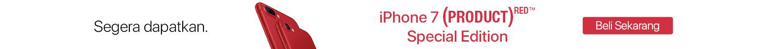 Kredit iPhone 7 dan 7 Plus Red Edition tanpa kartu kredit