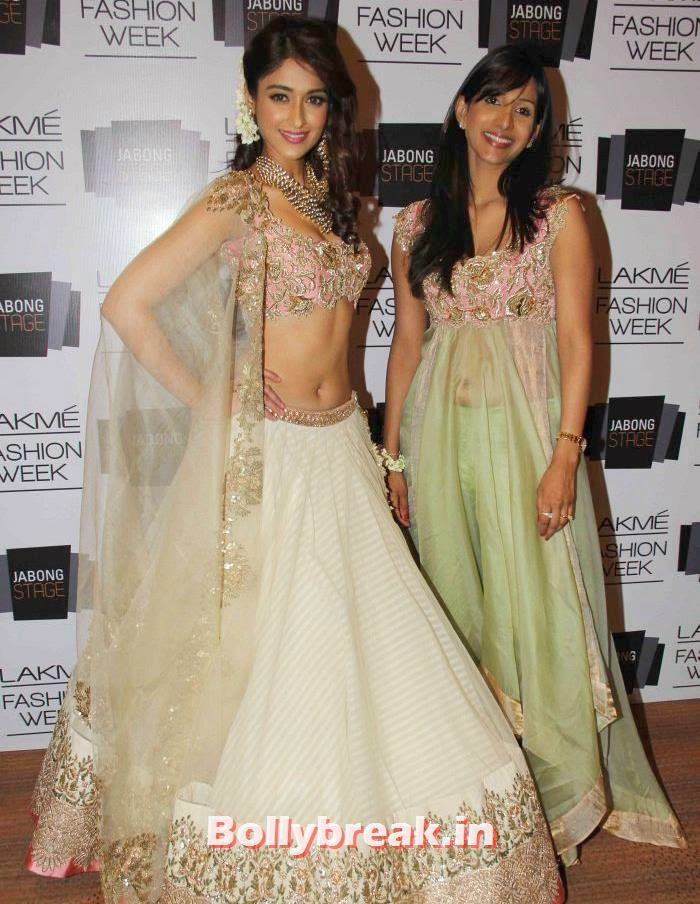 Ileana D'Cruz, Anushree Reddy, Ileana D'Cruz at Anushree Reddy Show - Lakme Fashion Week