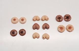 mature, tits, brest, brest cancer, anus, asshole, stud, earrings
