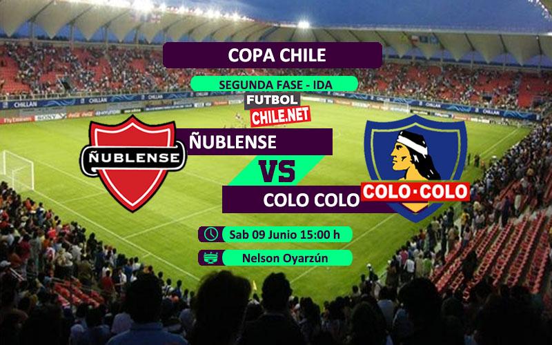 Mira Ñublense vs Colo Colo en vivo y online por la Copa Chile 2018