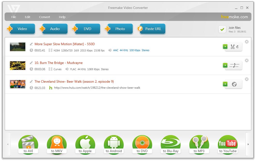 Freemake Video Converter Gold v4.1.9.41 + Serial