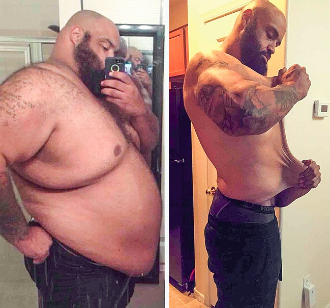 21 Before And After Photos Of People Who Managed To Lose Weight and Begin A Brand New Life - Pasquale Brocco was once 605lb, but he worked hard and lost 326lb! Now he launched his own weight-loss coaching program.