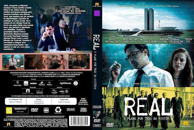 Capa DVD Real, o plano por trás da história [Custom]