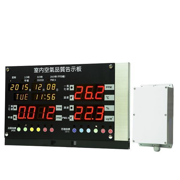 IAQ 室內空氣品質偵測看板--IAQ 室內空氣品質感測看板-IAQ 室內空氣品質監測看板