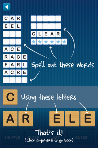 The Book Chook Word Game iPad App Anagram Twist