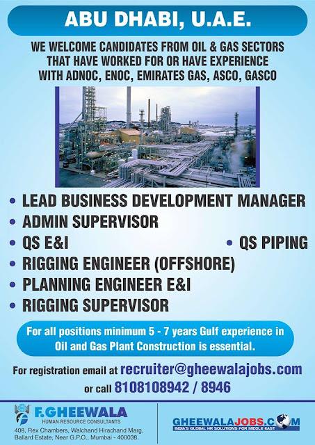 Gas Jobs: Gas Jobs Uae