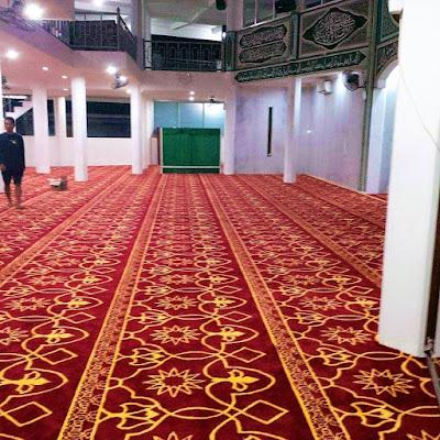 Karpet Masjid Handmade Dari Gudang 081310841727