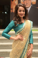 Tejaswi Madivada looks super cute in Saree at V care fund raising event COLORS ~  Exclusive 081.JPG