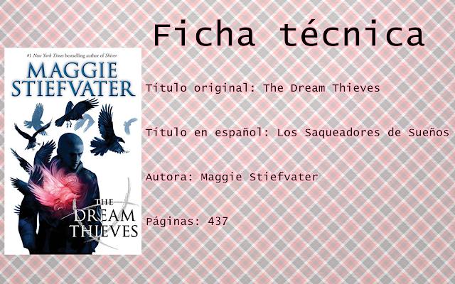 """Reseña """"The Dream Thieves"""""""