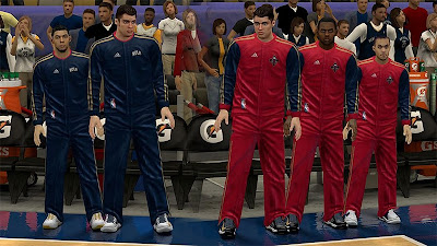 NBA 2K13 New Orleans Pelicans Warmup Uniforms Patch