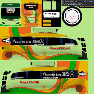 Download Livery Bus Pahala Kencana